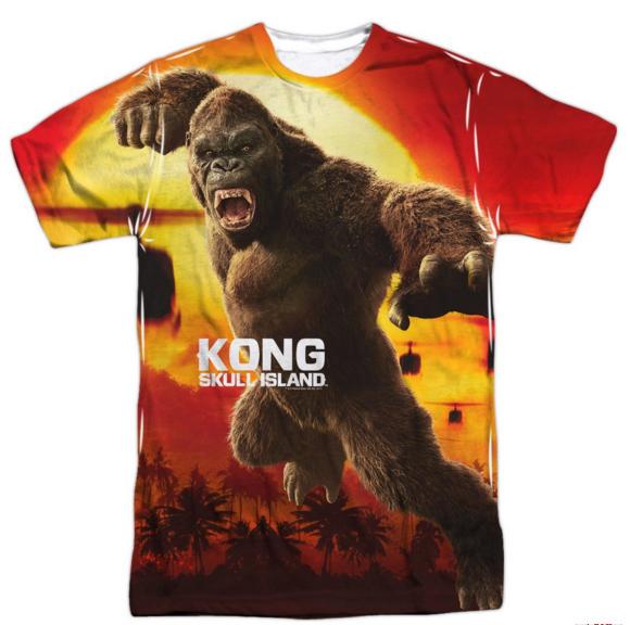 kong SKULL ISLAND t-shirt